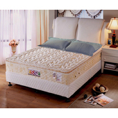《ESSE御璽名床》【舒壓記憶】正三線獨立筒床墊5x6.2尺 -雙人買再送記憶枕(單人X1 / 雙人以上X2)