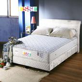 《ESSE御璽名床》【四線】雙面三線車工獨立筒床墊5x6.2尺 -雙人