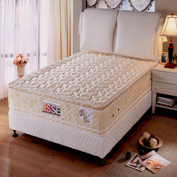 《ESSE御璽名床》【經典四線】雙面乳膠獨立筒床墊5x6.2尺 -雙人