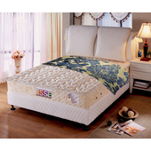 《ESSE御璽名床》【健康乳膠】2.3硬式床墊5x6.2尺(雙人尺寸)買再送記憶枕(單人X1 / 雙人以上X2)