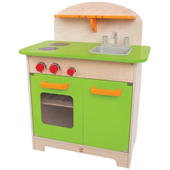 德國educo愛傑卡 角色扮演廚房系列-大型廚具台