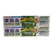 《德恩奈》清淨涼牙膏(156gx2條/組)