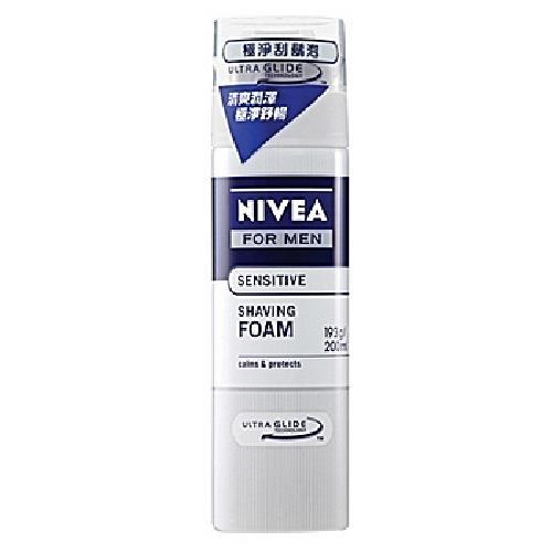 《妮維雅》極淨刮鬍泡(200ml/瓶)