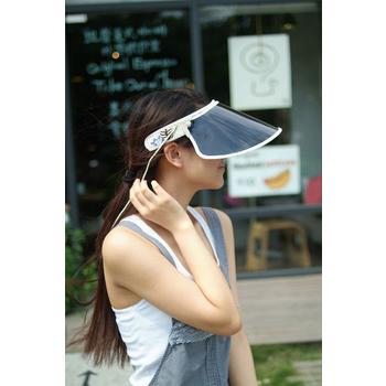 新風 新成人F款~UV抗紫外線遮陽帽(米色)