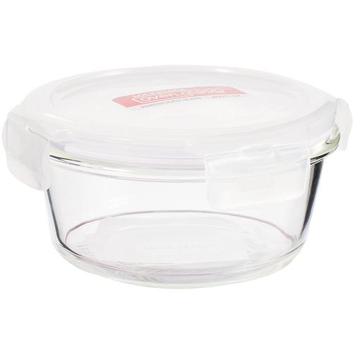 樂扣樂扣 玻璃保鮮盒圓型(380ml)