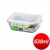 《樂扣樂扣》玻璃保鮮盒長方型(630ml)