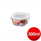 《樂扣樂扣》玻璃保鮮盒方型(300ml)