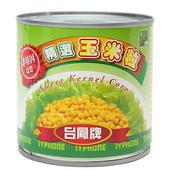 《台鳳牌》精選玉米粒(340gx3罐/組)