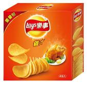 《Lay's樂事》家庭號雞汁洋芋片(260g/盒)