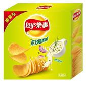 《Lay's樂事》家庭號奶焗香蔥洋芋260g/盒 $74