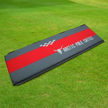 ★結帳現折★APC 豪華加厚-可拼接自動充氣睡墊-紅灰色-厚5cm