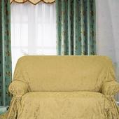 綠萼DIY緹花一人座沙發罩