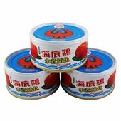 《紅鷹牌》海底雞水煮(170gx3罐/組)