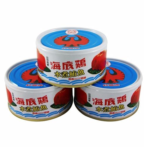 紅鷹牌 海底雞水煮(170gx3罐/組)