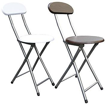 頂堅 木製高背椅座-折疊椅子(4入/組)[二色提供選擇](素雅白色)