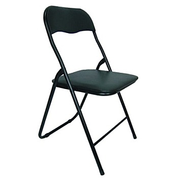 頂堅 [4件組]高背橋牌-折疊椅(四入組)-全黑色ZF0170-4(全黑色(四入))