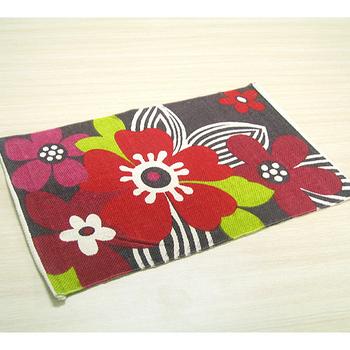 《布安於室》園野花純棉踏墊(2入組) 40cmx60cm