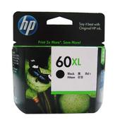 《HP》HP CC641WA NO.60XL 原廠黑色高容量墨水匣(HP 60XL 原廠黑色高容量墨水匣)