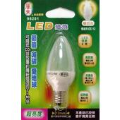 《關東》LED E12燈泡(暖白)