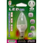 《關東》LED E12燈泡(正白)