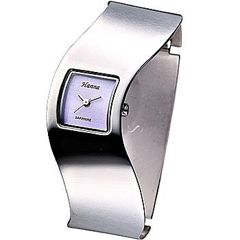 Hanna 一體成型時尚手環錶 HA5802-淺紫