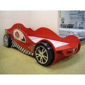 《首雅傢俬》超帥氣立體輪跑車造型3呎床(預購款)(紅色)