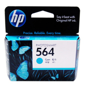 《HP》HP CB318WA 564 原廠藍色墨水匣(HP 564 原廠藍色墨水匣)