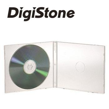 DigiStone單片超薄 5 mm CD/DVD軟殼收納盒/白色透明 25PCS=>台灣精品,台灣製造!!