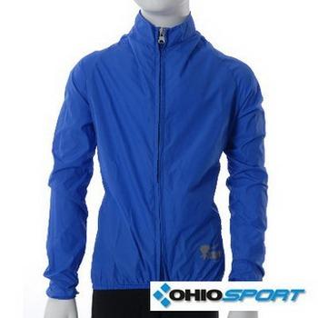 OHIOSPORT KIDS 系列-兒童素面原型風衣(寶藍)(M碼)