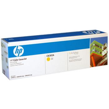HP CB382A 原廠黃色碳粉匣