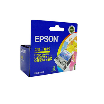 EPSON T039050 原廠彩色墨水匣