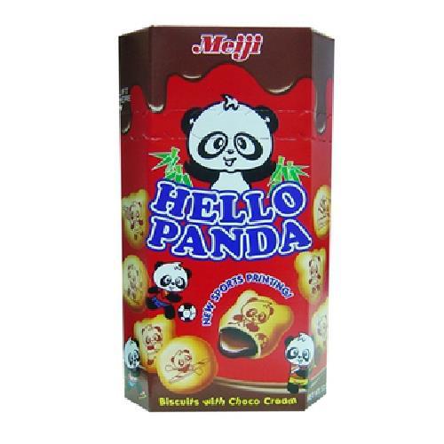 明治 熊貓巧克力夾心餅(50g/盒)