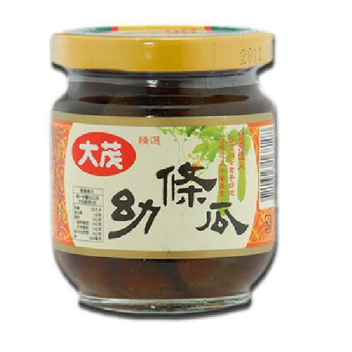 大茂 幼條瓜(170gx3瓶/組)