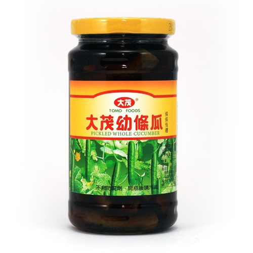 大茂 幼條瓜(375g/瓶)