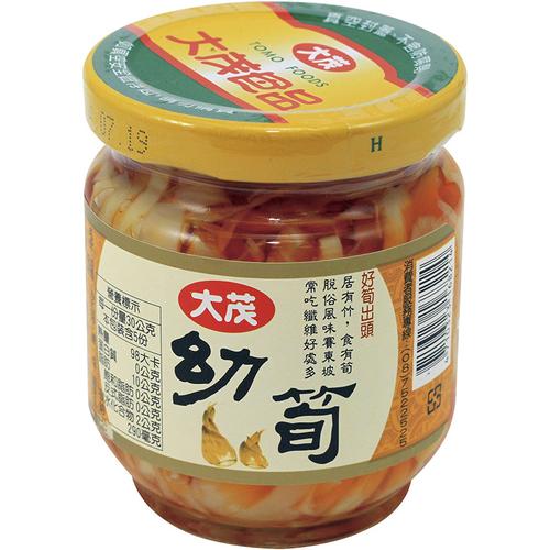 大茂 幼筍(170gx3瓶/組)