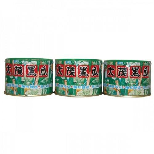 大茂 黑瓜(170gx3罐/組)