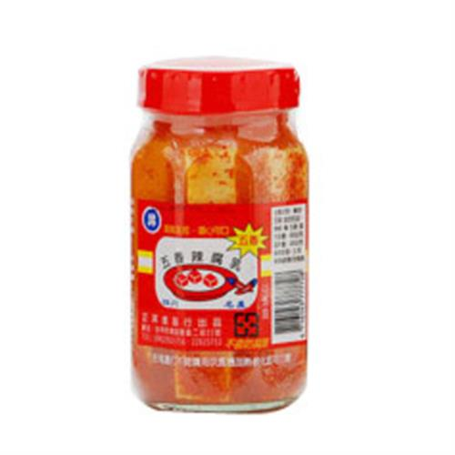 正昇 五香辣腐乳(460g/罐)