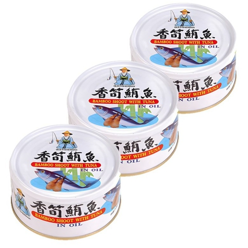《同榮》香筍鮪魚(170g*3罐/組)