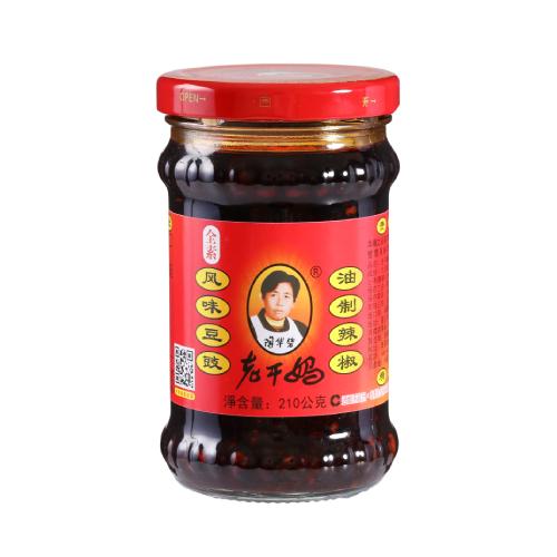 老干媽 風味豆鼓油制辣椒(210g/瓶)