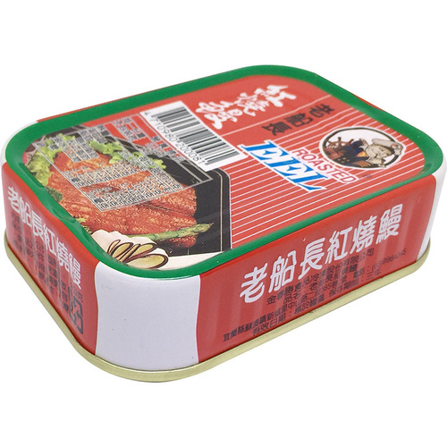 《老船長》紅燒鰻-易開罐(100gx3罐/組)
