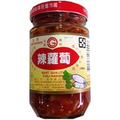 《金岡》辣味蘿蔔(320g/罐)