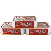 《紅鷹牌》香辣紅燒鰻(100g*3罐/組)