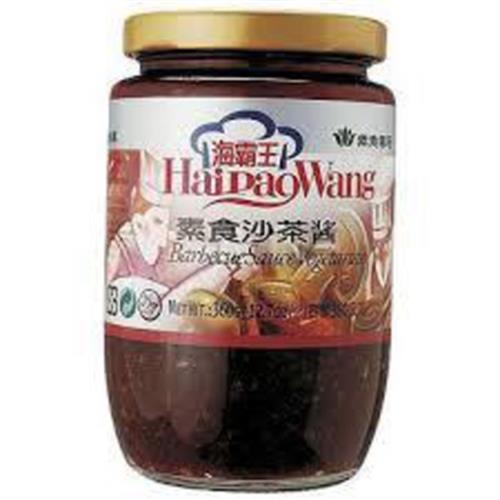 海霸王 素食沙茶醬(360g/瓶)