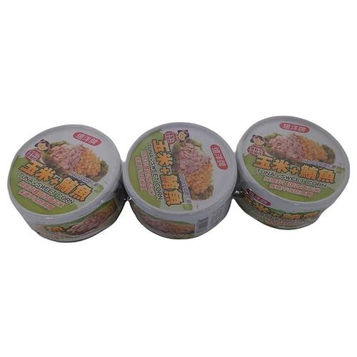 遠洋 玉米鮪魚三明治(110gx3罐/組)