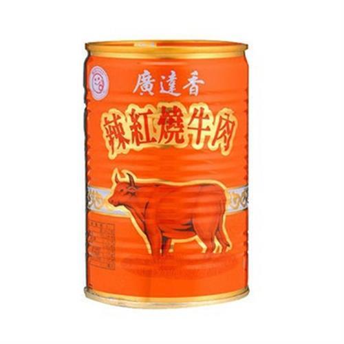 廣達香 紅燒牛肉香辣(440g/罐)