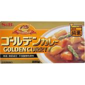《S&B》愛思必金牌純素咖哩-甜味(220g/盒)