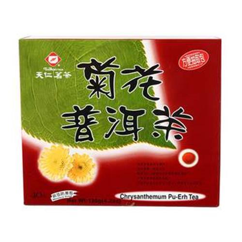 天仁 菊花普洱茶(3gx40包/盒)