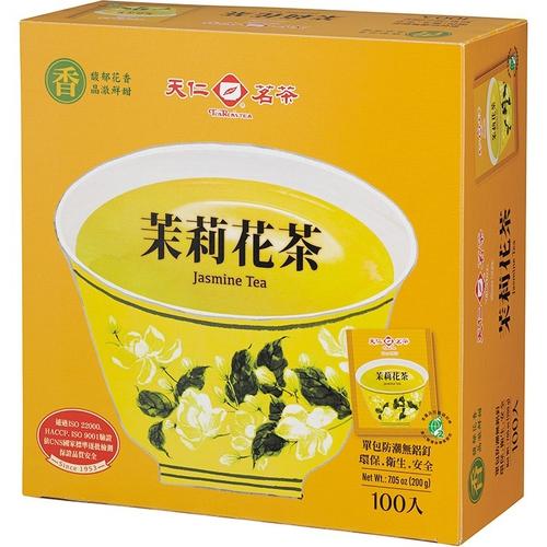《天仁》防潮包茉莉花茶袋茶(2gx100包/盒)