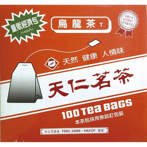 天仁 烏龍袋茶(100包*2g/盒)