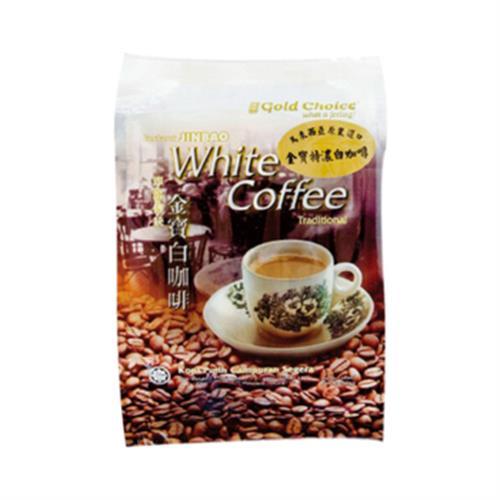 金寶 即溶特濃白咖啡(40gx15包/袋)
